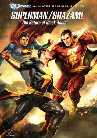 Nice Images Collection: Superman Shazam!: The Return Of Black Adam Desktop Wallpapers