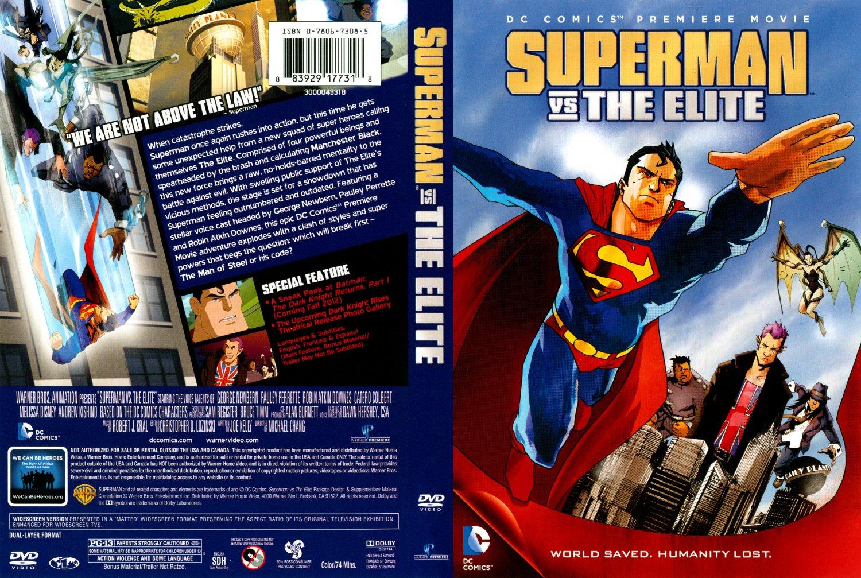HD Quality Wallpaper | Collection: Cartoon, 1500x1007 Superman Vs. The Elite