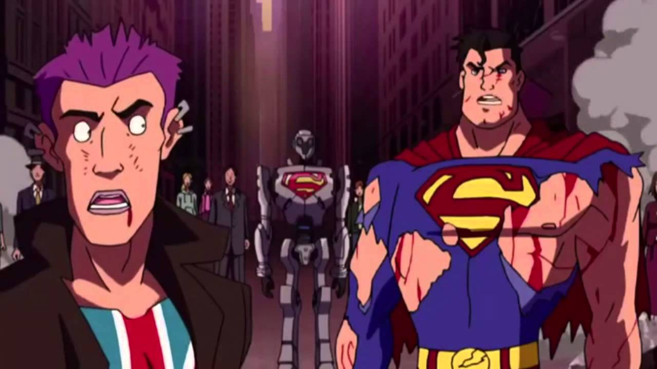 Nice Images Collection: Superman Vs. The Elite Desktop Wallpapers
