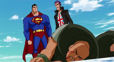 HD Quality Wallpaper | Collection: Cartoon, 400x219 Superman Vs. The Elite