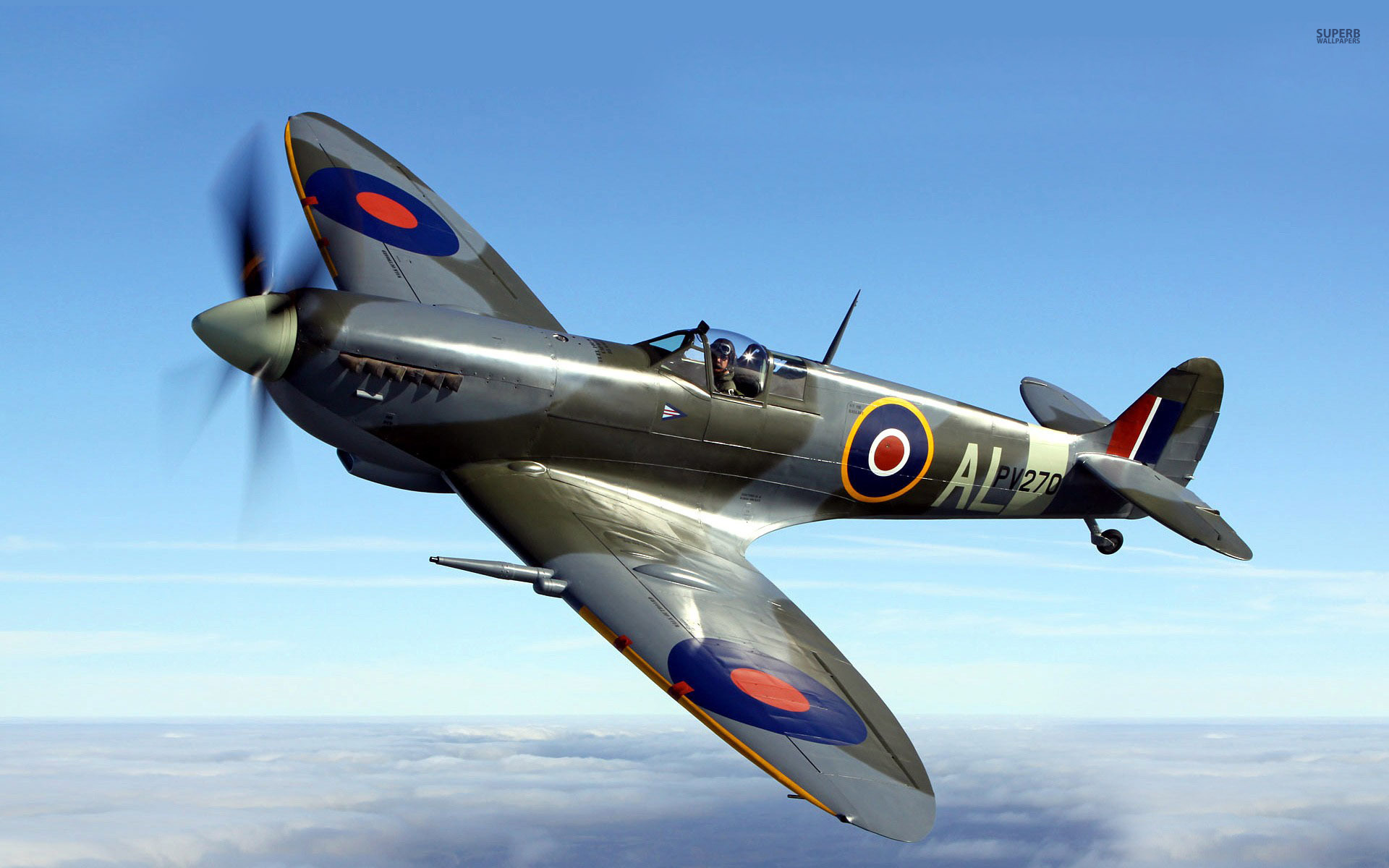 Nice wallpapers Supermarine Spitfire 1920x1200px