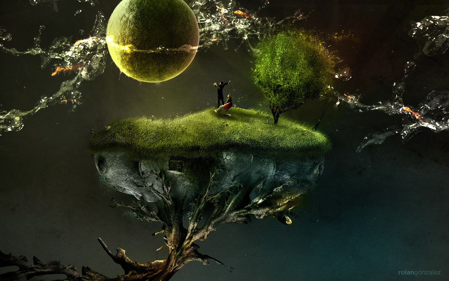 HD Quality Wallpaper | Collection: Artistic, 1440x900 Surreal