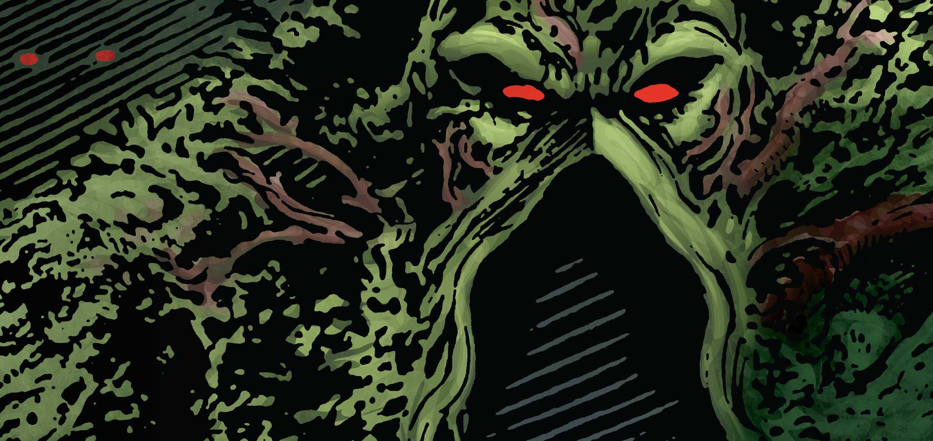 High Resolution Wallpaper | Swamp Thing 1900x900 px