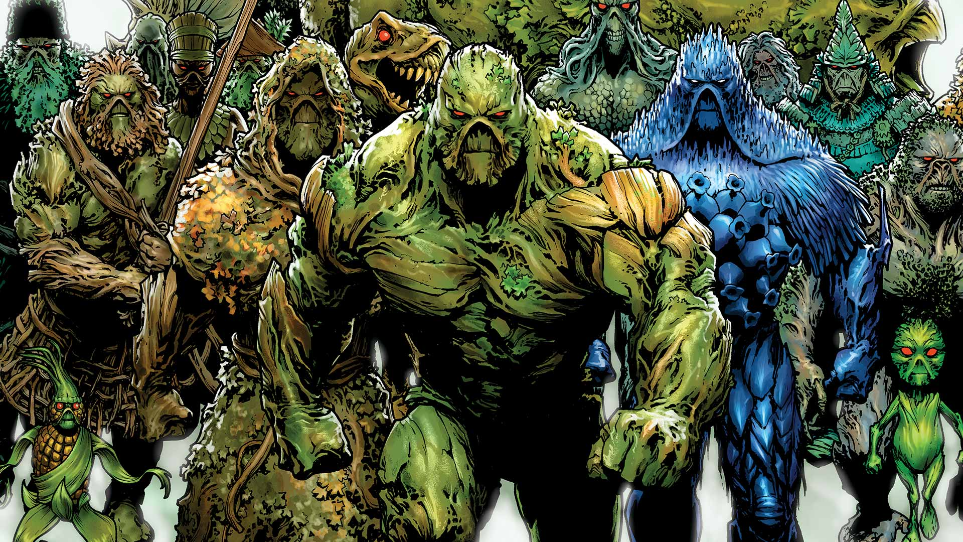 High Resolution Wallpaper | Swamp Thing 1920x1080 px