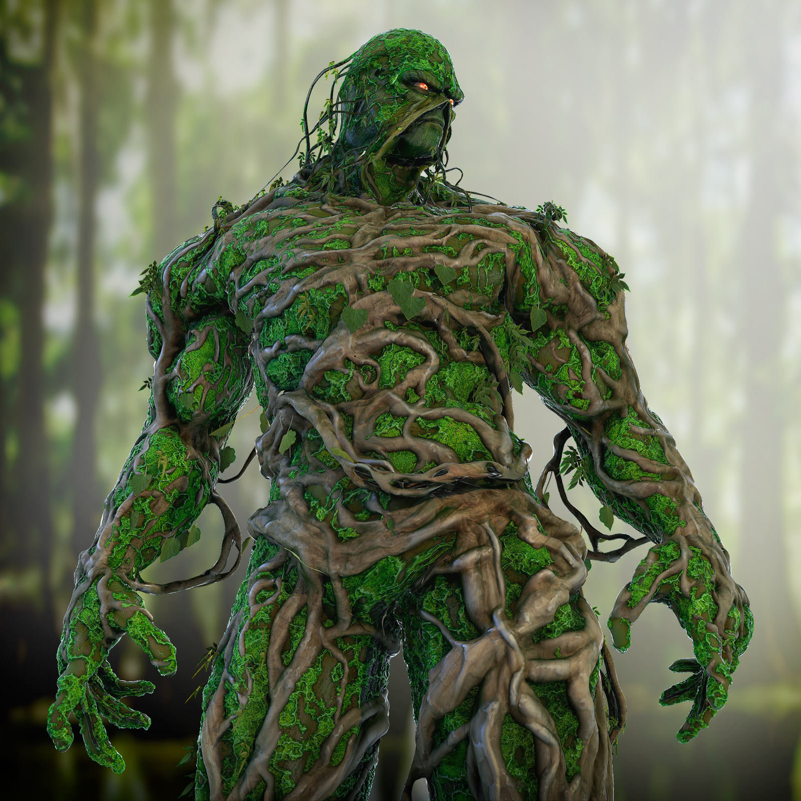 Swamp Thing Backgrounds, Compatible - PC, Mobile, Gadgets| 1600x1600 px