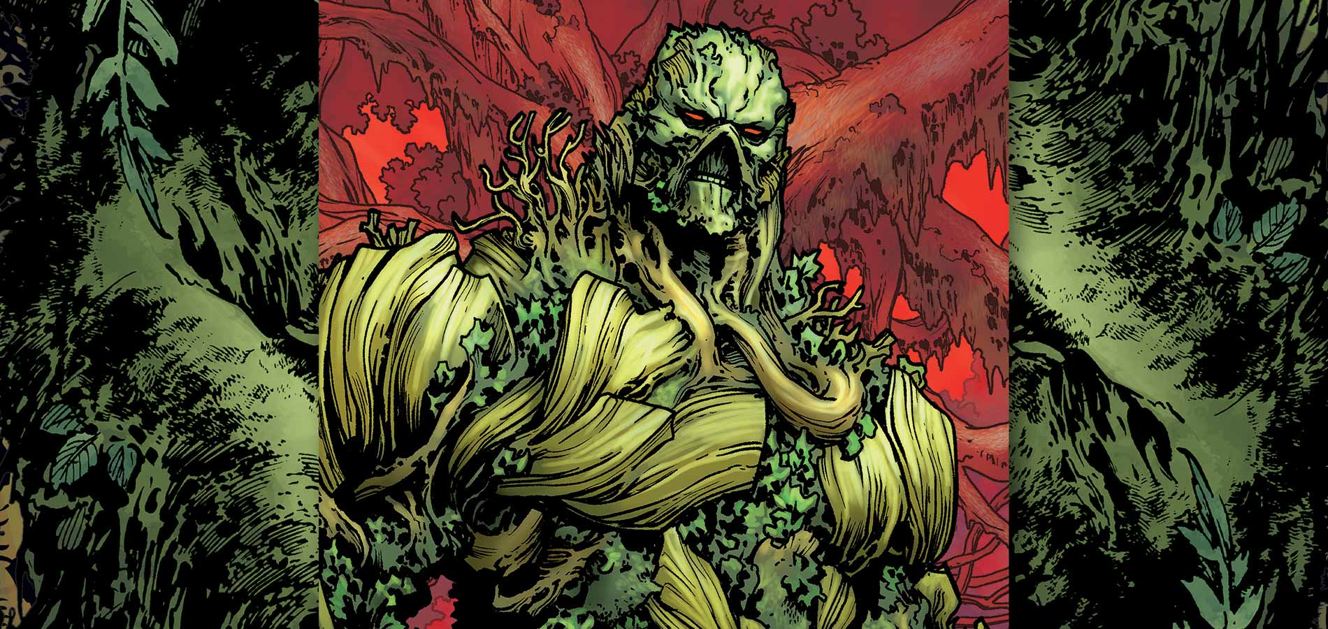 Nice Images Collection: Swamp Thing Desktop Wallpapers