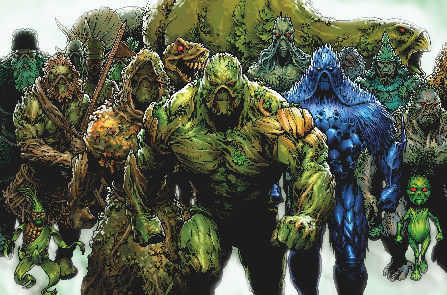 Swamp Thing Backgrounds on Wallpapers Vista