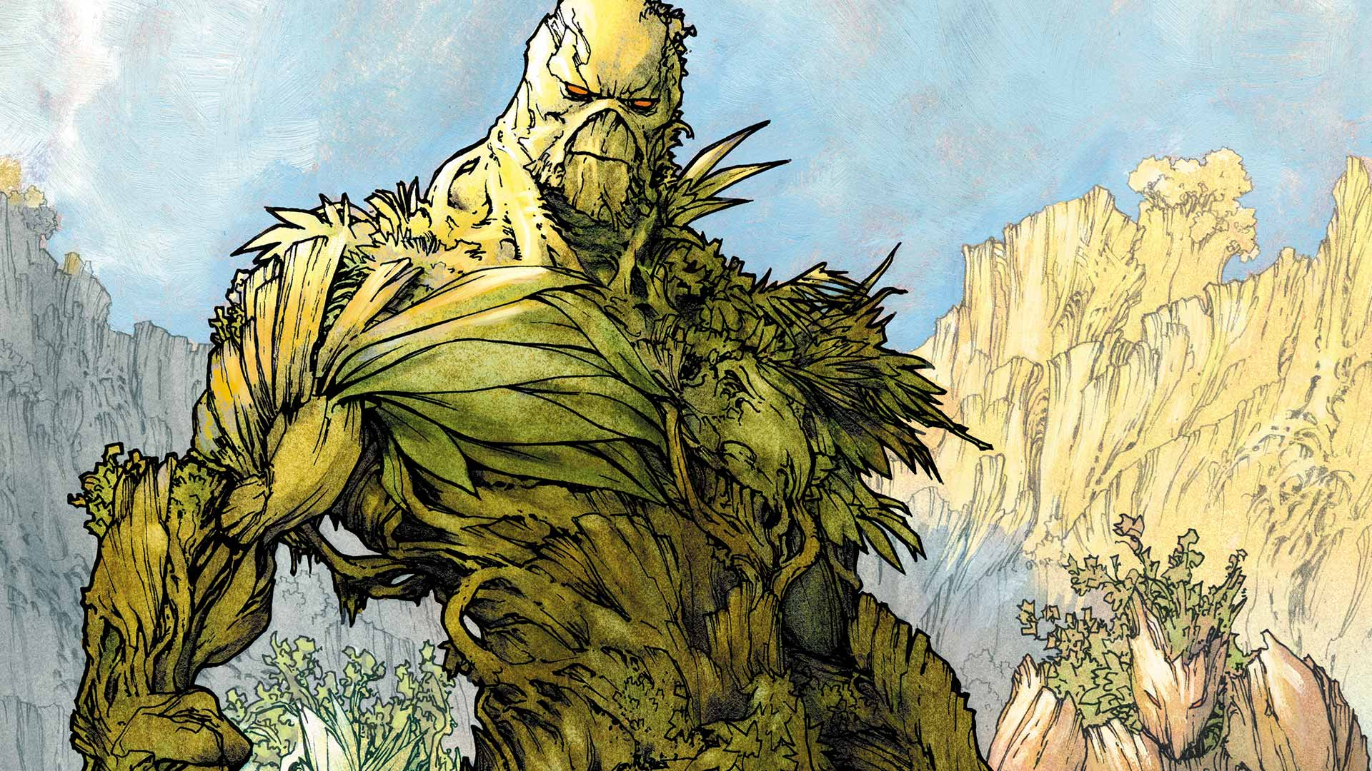 Swamp Thing High Quality Background on Wallpapers Vista