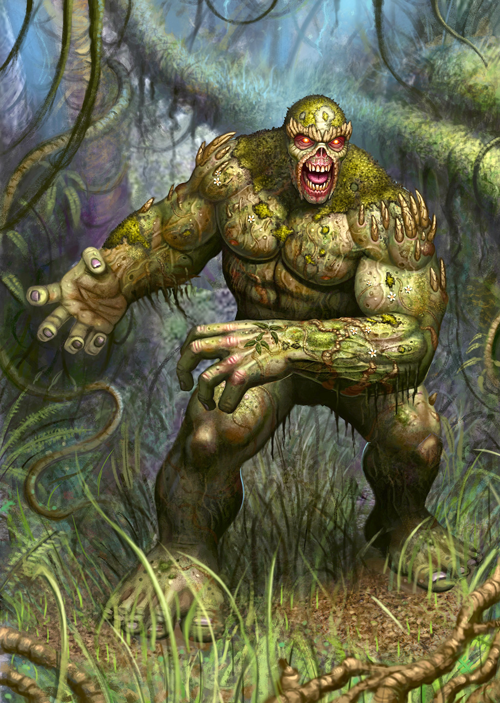 Images of Swamp Thing | 1024x1440