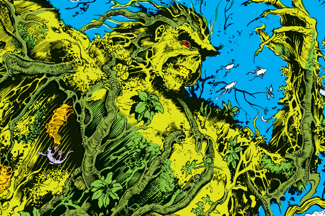 HD Quality Wallpaper | Collection: Comics, 1080x720 Swamp Thing