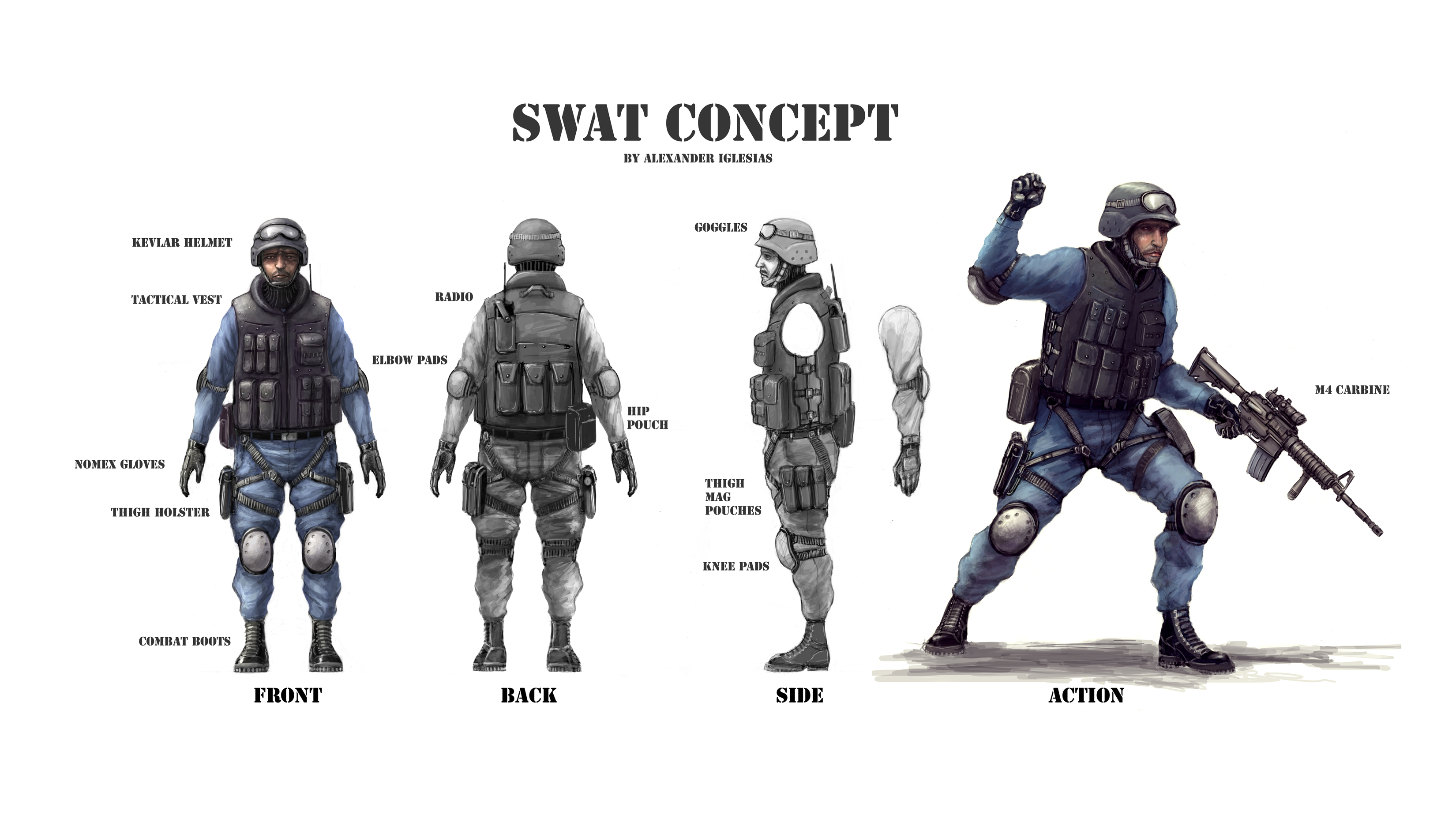 Nice wallpapers SWAT 3300x1856px