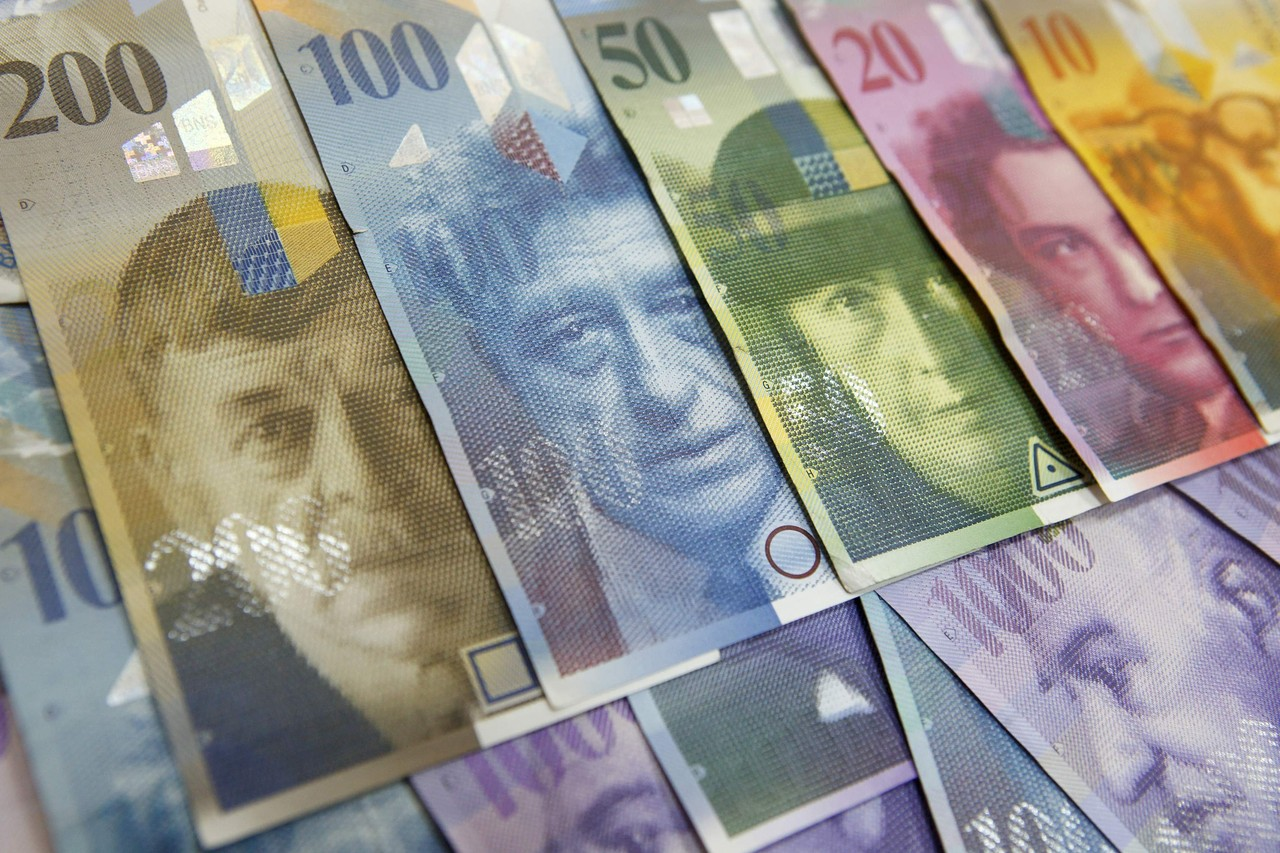 Nice Images Collection: Swiss Franc Desktop Wallpapers