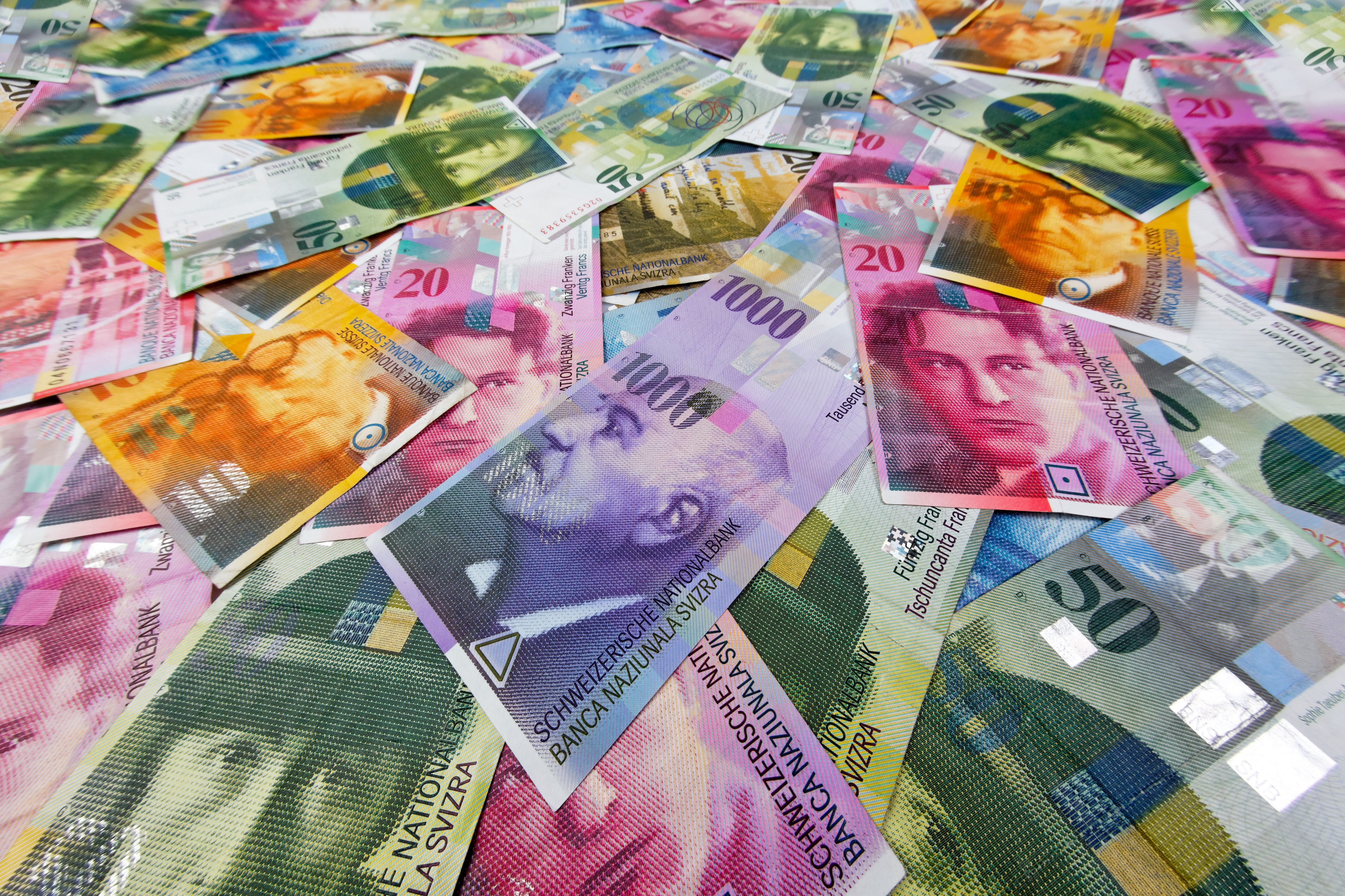 Nice wallpapers Swiss Franc 5616x3744px