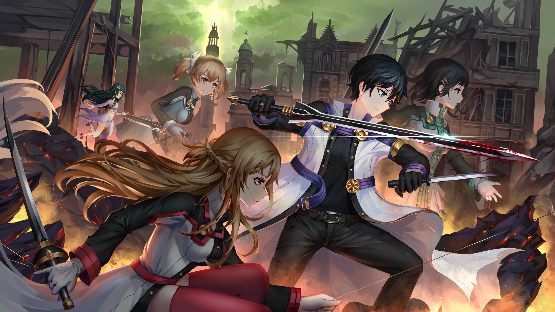 Most Viewed Sword Art Online Movie Ordinal Scale Wallpapers 4k Wallpapers