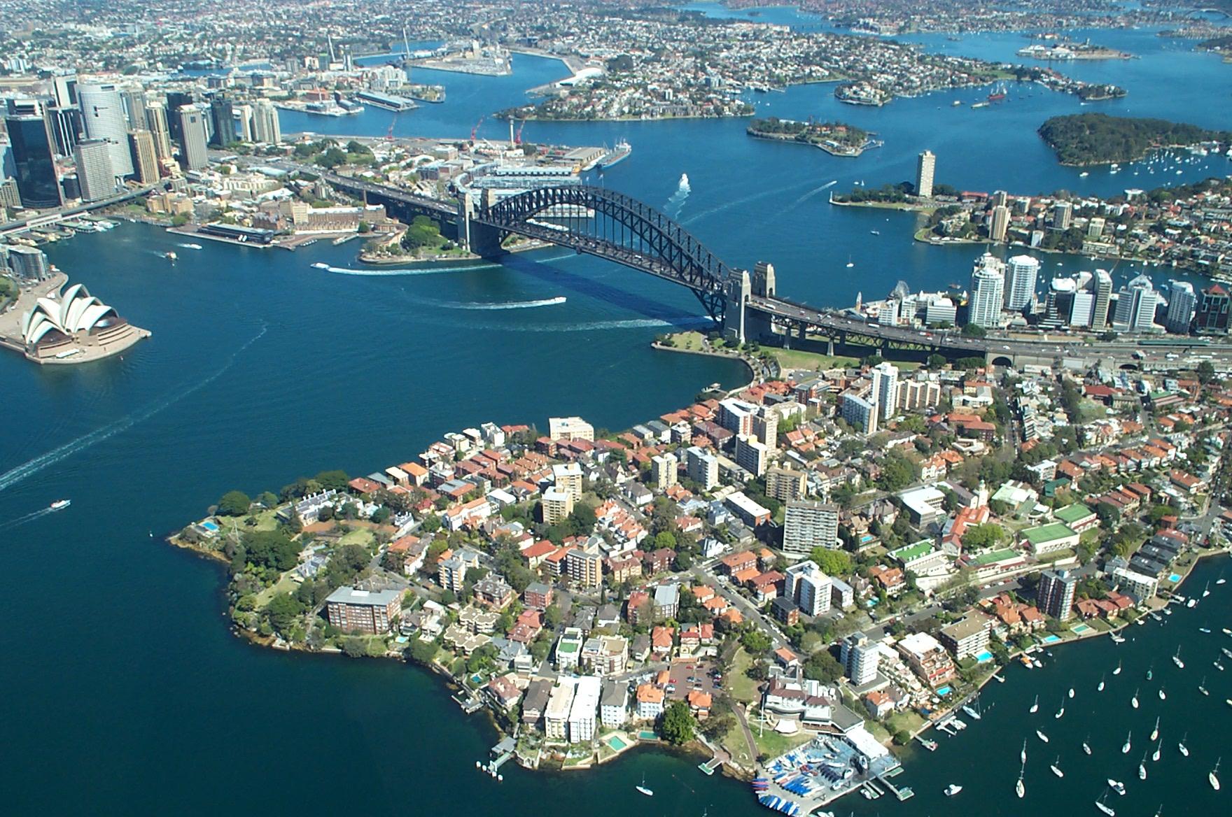 Nice wallpapers Sydney Harbour Bridge 1760x1168px