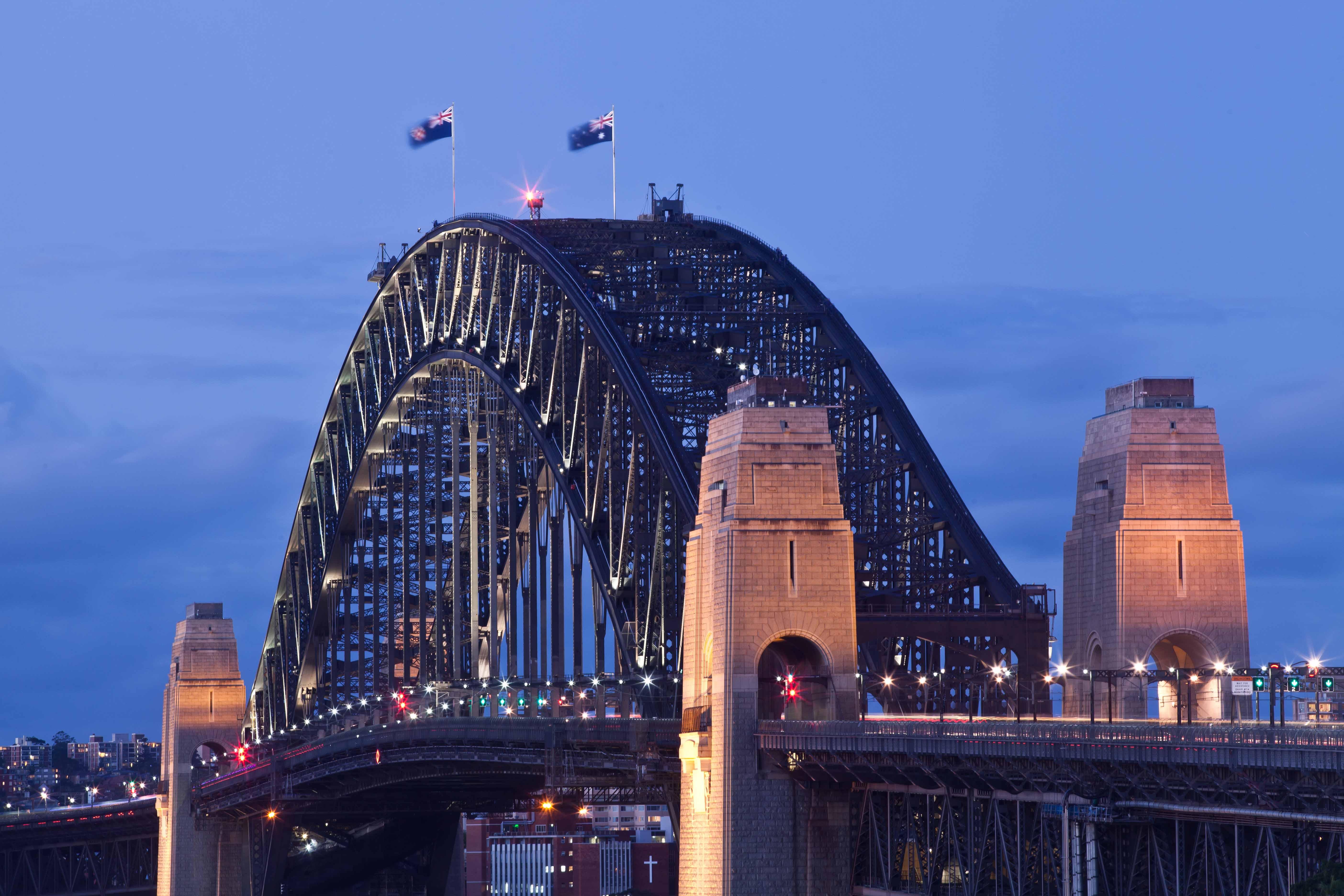 HQ Sydney Harbour Bridge Wallpapers | File 934.14Kb