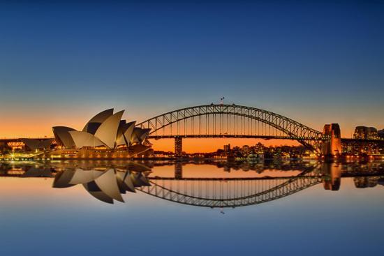 Nice Images Collection: Sydney Harbour Bridge Desktop Wallpapers