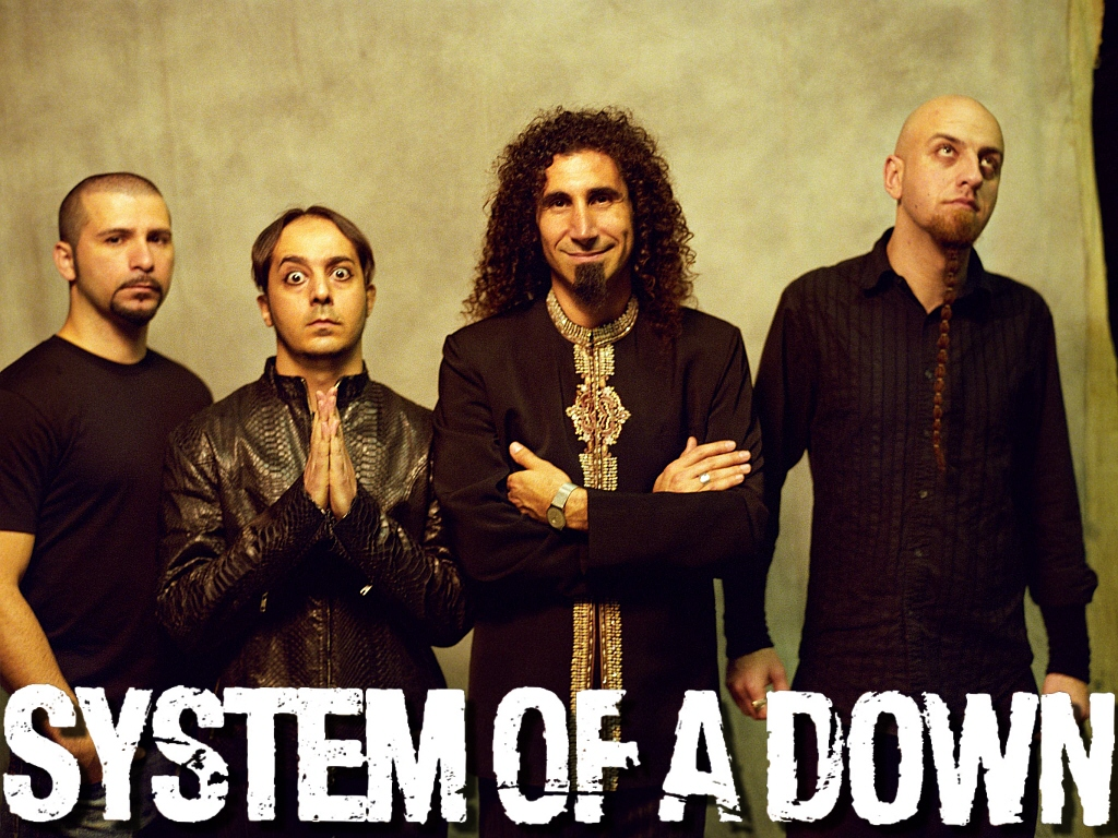 HD Quality Wallpaper   Collection: Music, 1024x768 System Of A Down