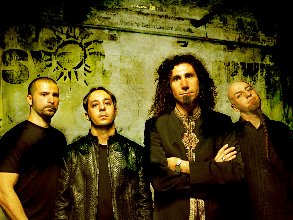 HD Quality Wallpaper | Collection: Music, 1024x768 System Of A Down