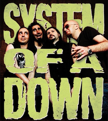 HD Quality Wallpaper | Collection: Music, 350x392 System Of A Down