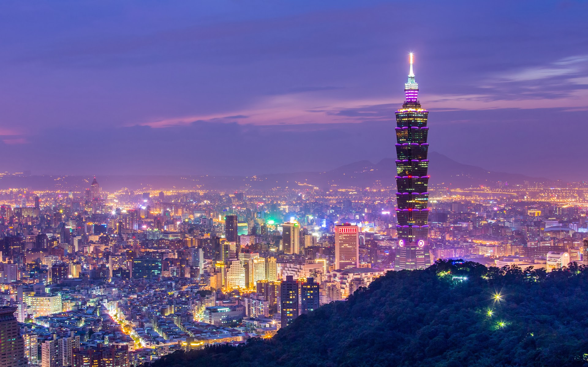 1920x1200 > Taipei Wallpapers