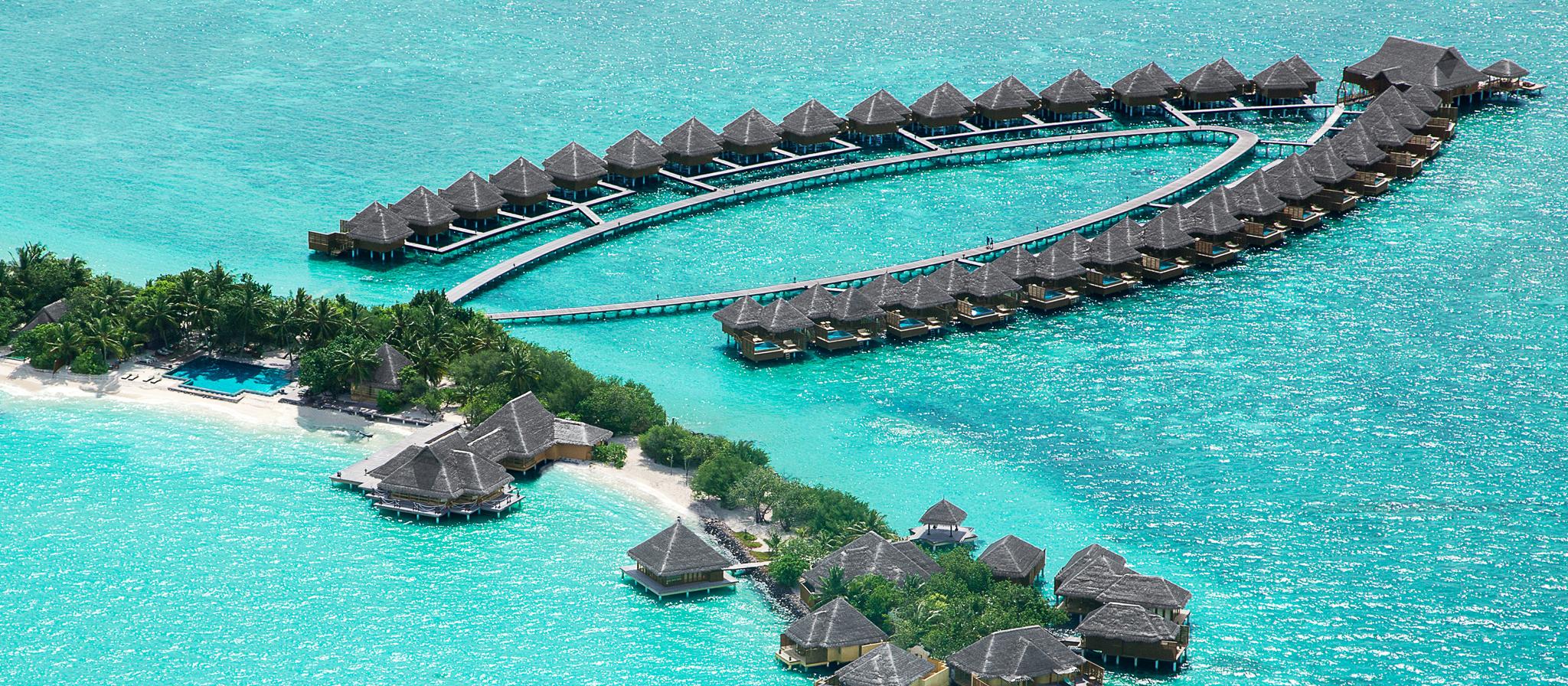 Taj Exotica Resort & Spa Backgrounds, Compatible - PC, Mobile, Gadgets| 2048x896 px