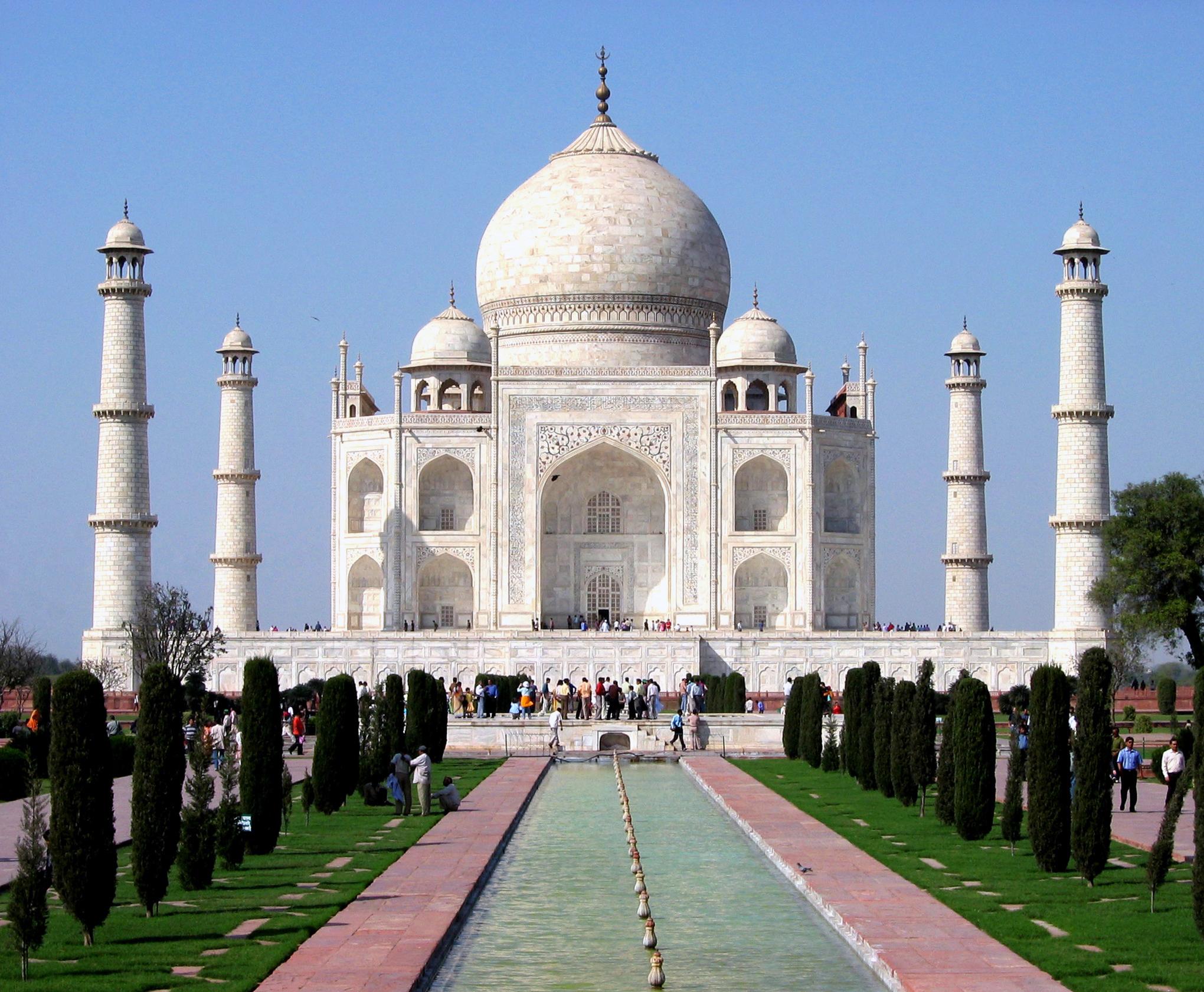 High Resolution Wallpaper | Taj Mahal 2040x1681 px