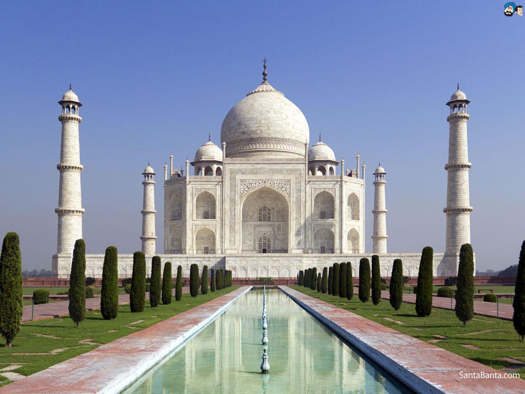 Taj Mahal Backgrounds, Compatible - PC, Mobile, Gadgets| 1024x768 px