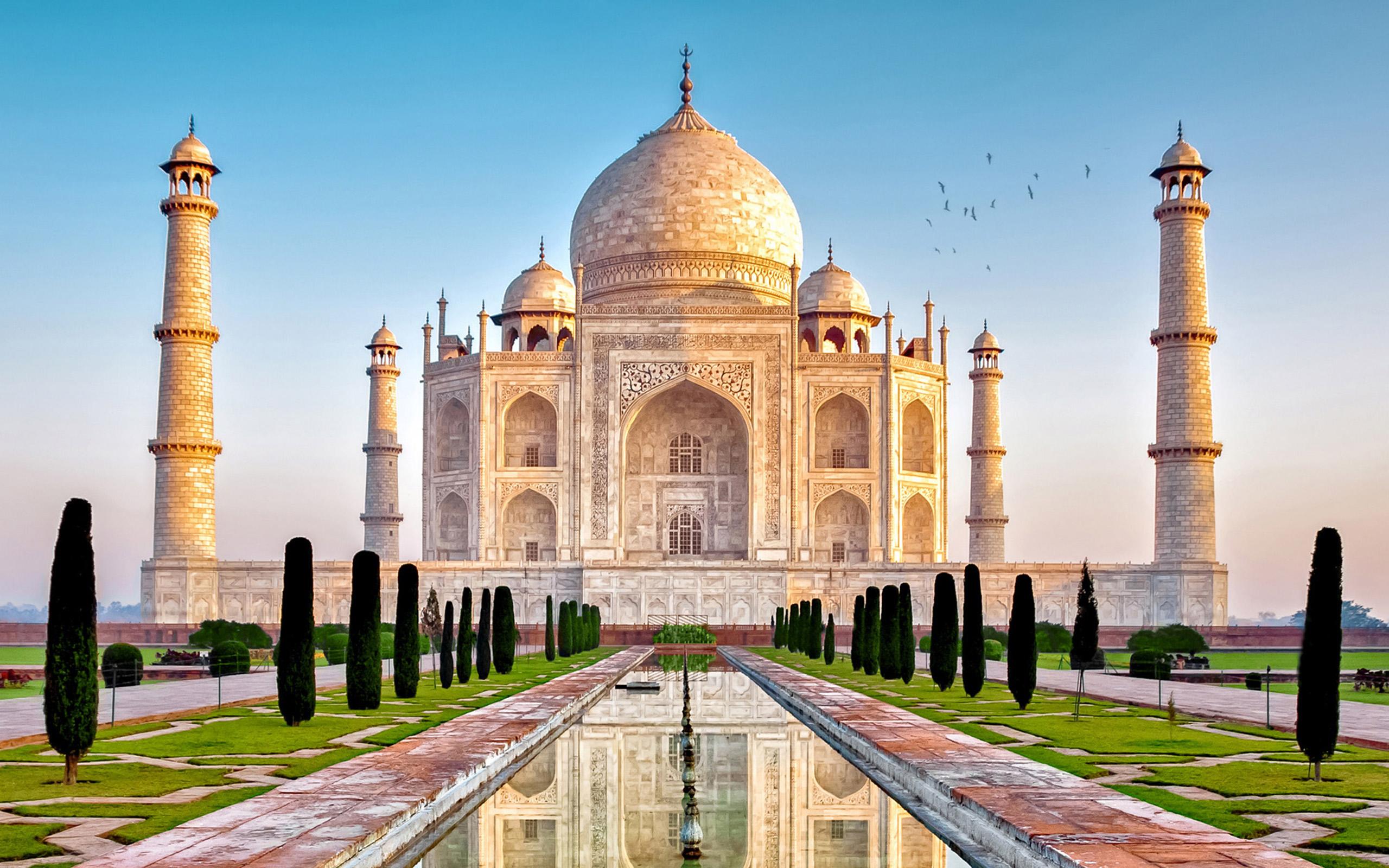 High Resolution Wallpaper | Taj Mahal 2560x1600 px