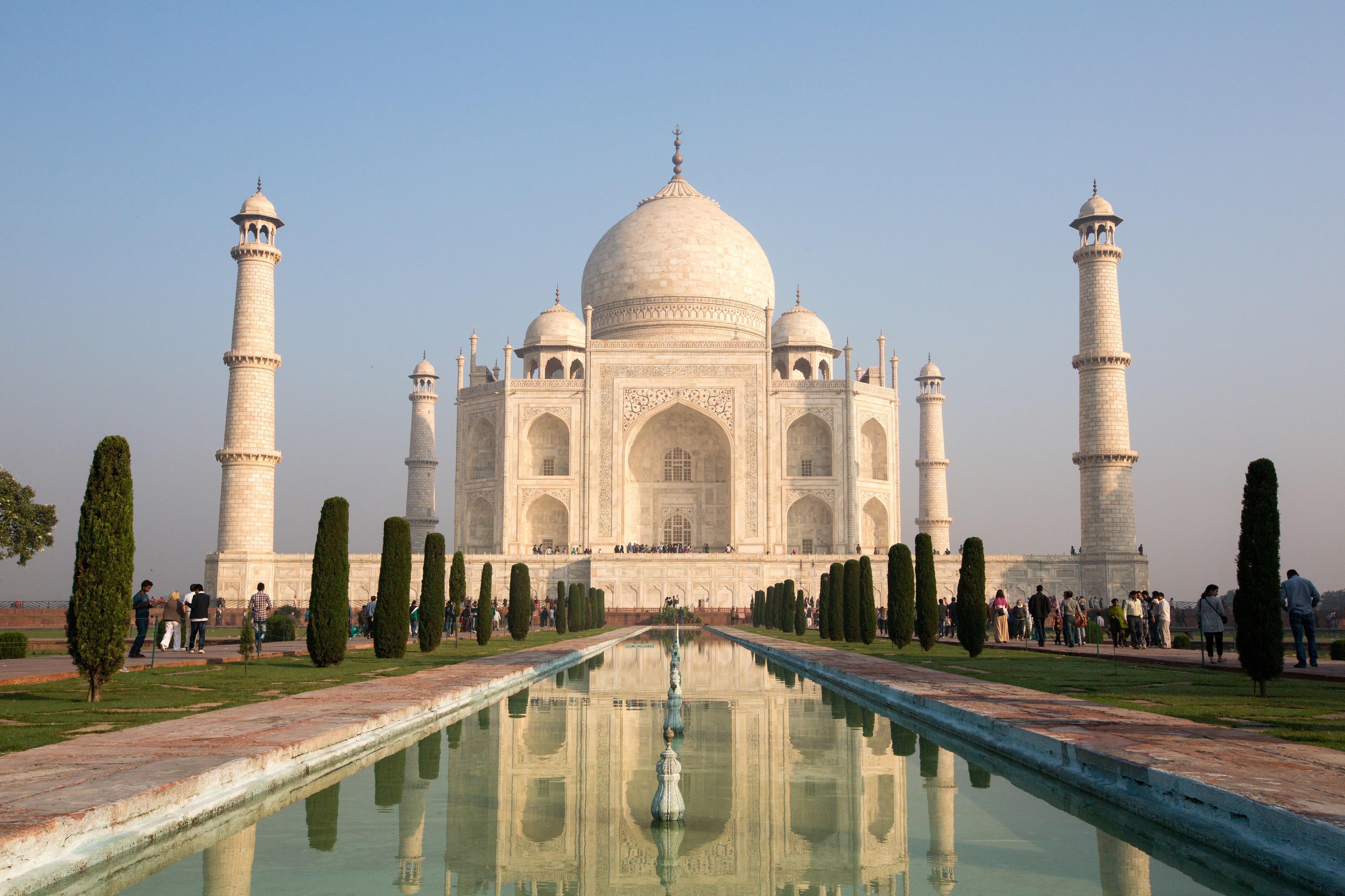 Taj Mahal Pics, Artistic Collection
