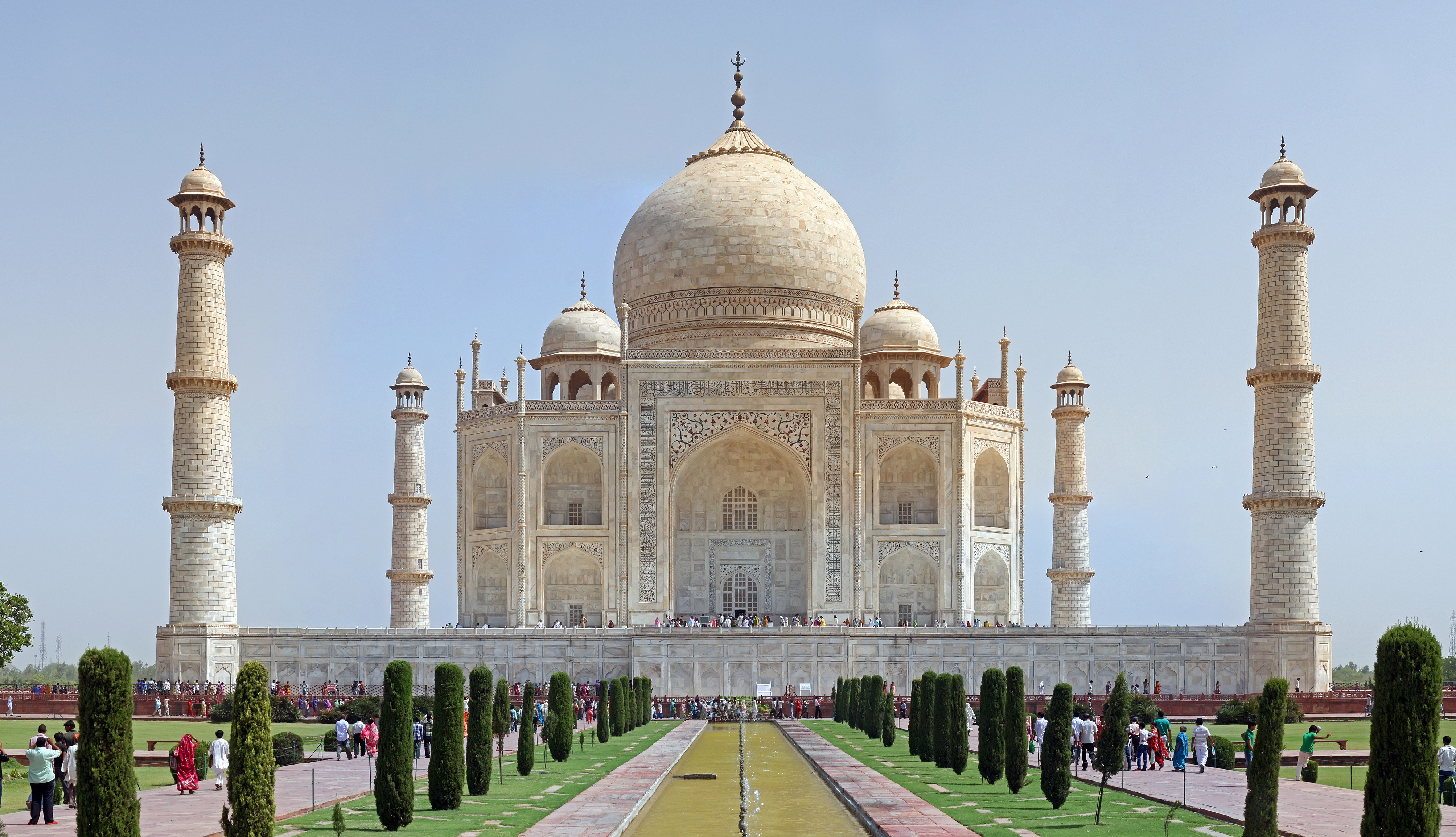 Nice wallpapers Taj Mahal 4014x2309px