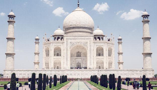 High Resolution Wallpaper | Taj Mahal 625x360 px