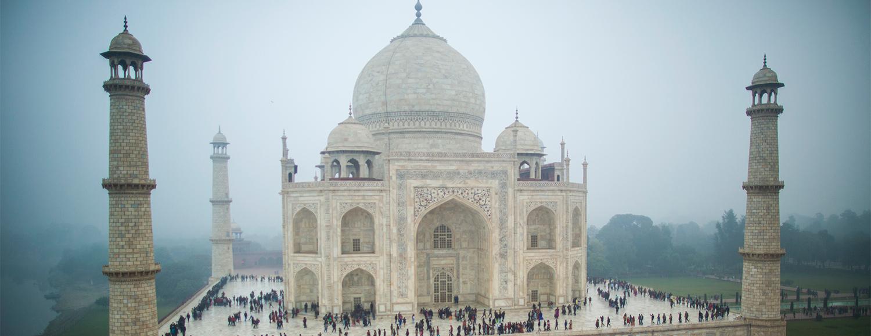 High Resolution Wallpaper | Taj Mahal 1500x578 px