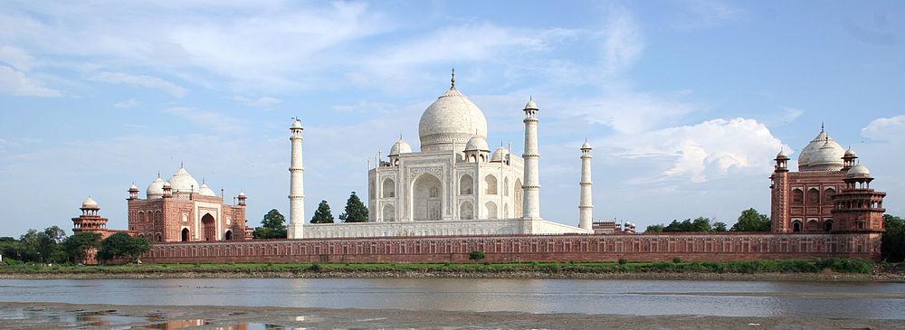 Nice wallpapers Taj Mahal 1000x365px