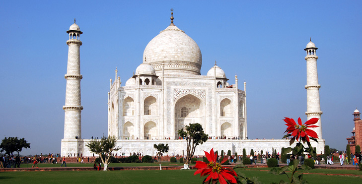 HD Quality Wallpaper | Collection: Artistic, 729x371 Taj Mahal