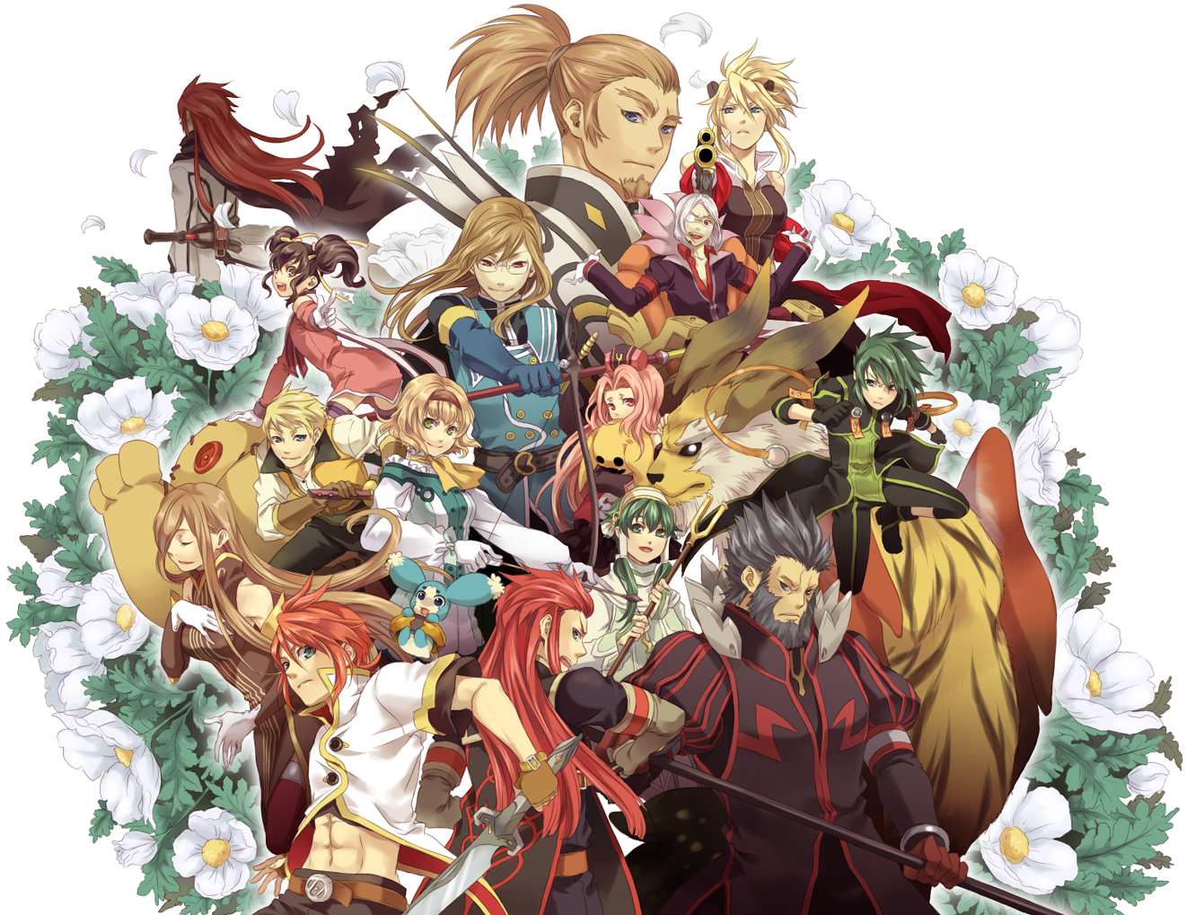Most Viewed Tales Of The Abyss Wallpapers 4k Wallpapers