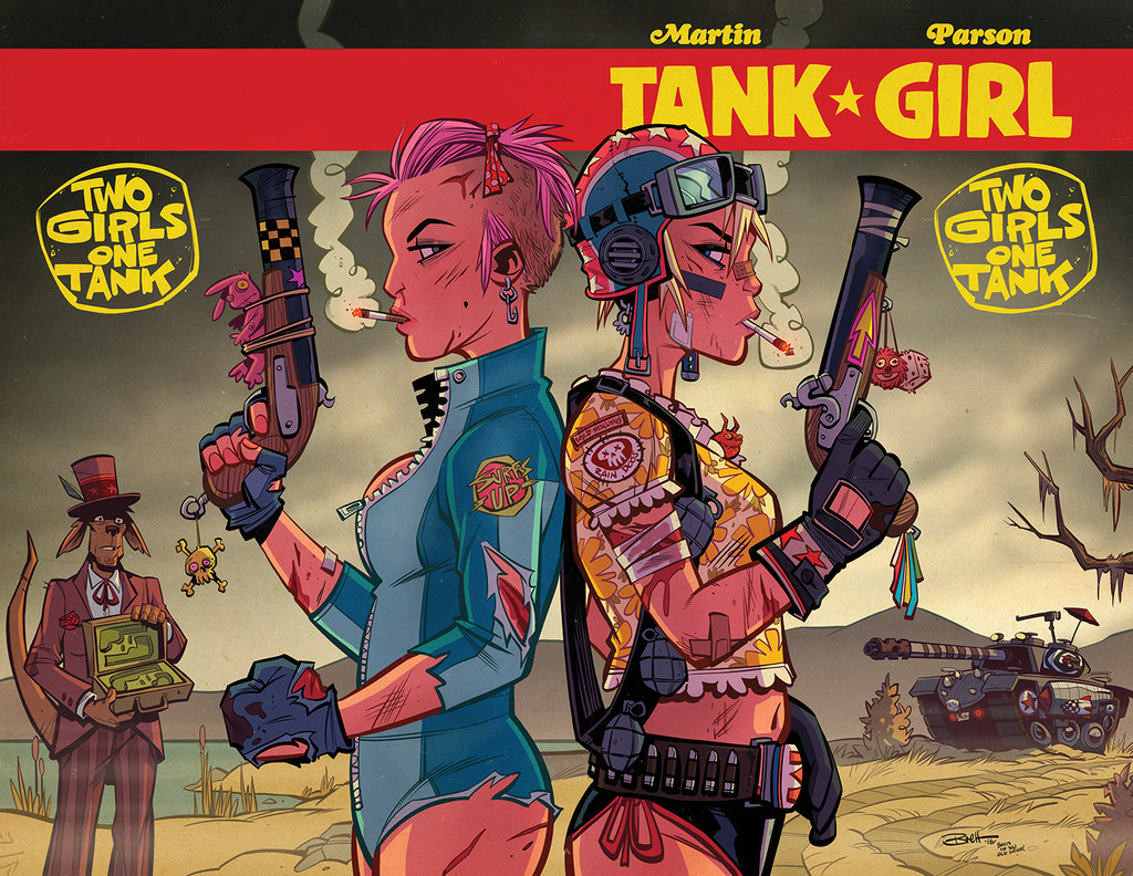 Tank Girl Backgrounds on Wallpapers Vista