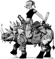 Nice Images Collection: Tank Girl Desktop Wallpapers
