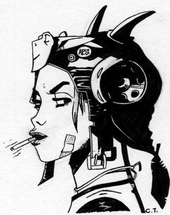 Tank Girl Backgrounds, Compatible - PC, Mobile, Gadgets| 593x750 px