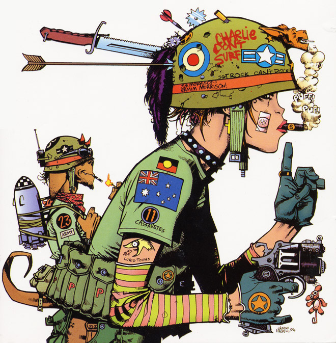 Images of Tank Girl | 660x673