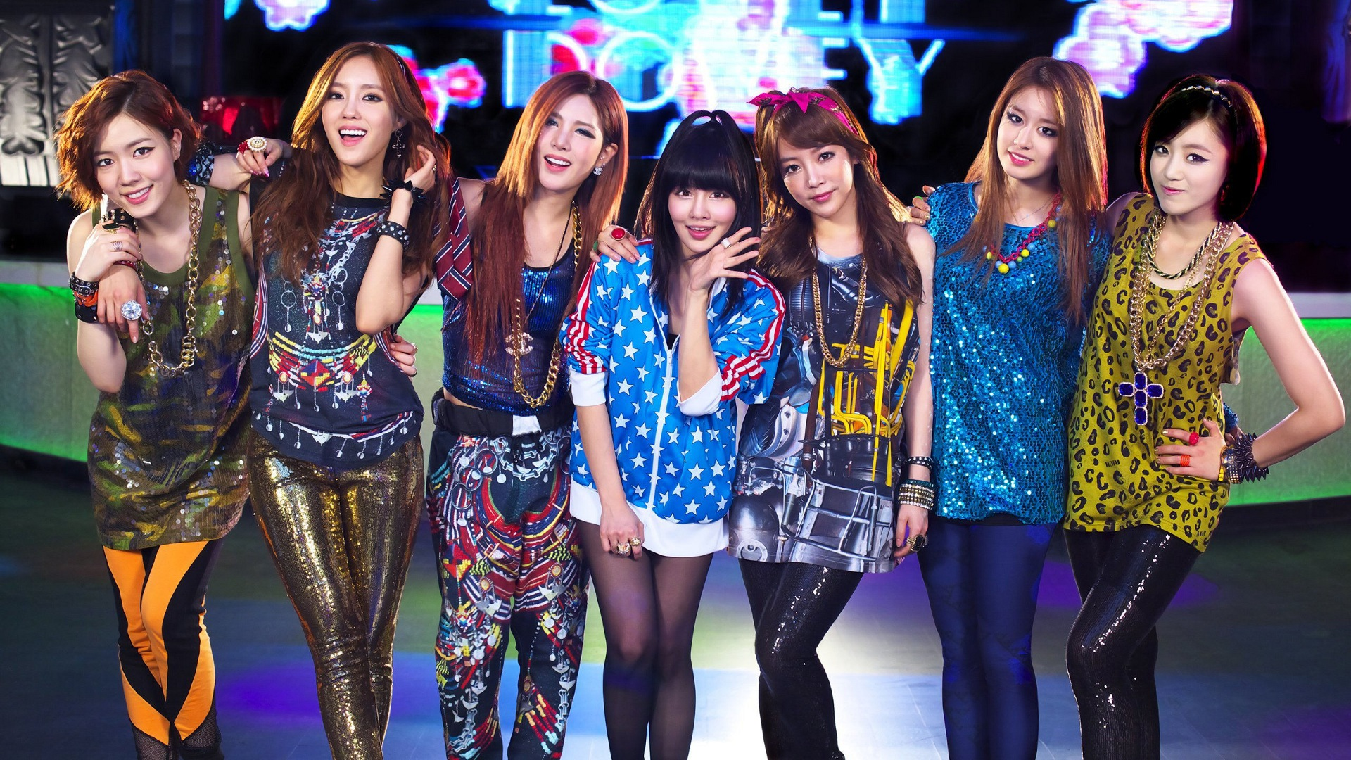 HD Quality Wallpaper | Collection: Music, 1920x1080 T-ara