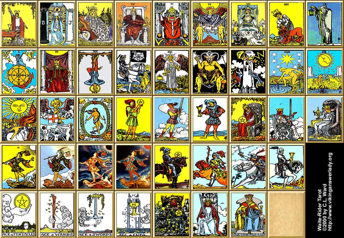 1152x800 > Tarot Wallpapers