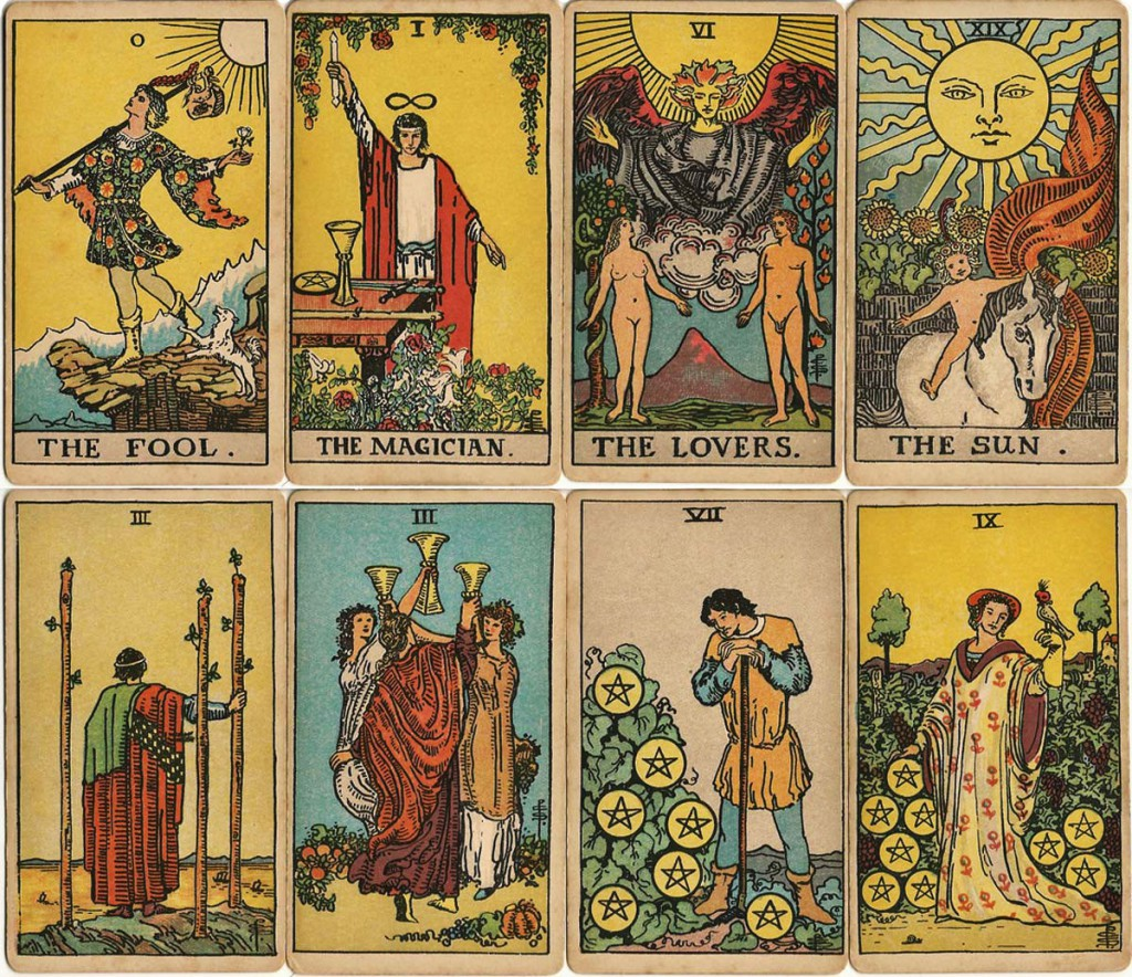 Nice wallpapers Tarot Cards 1024x884px
