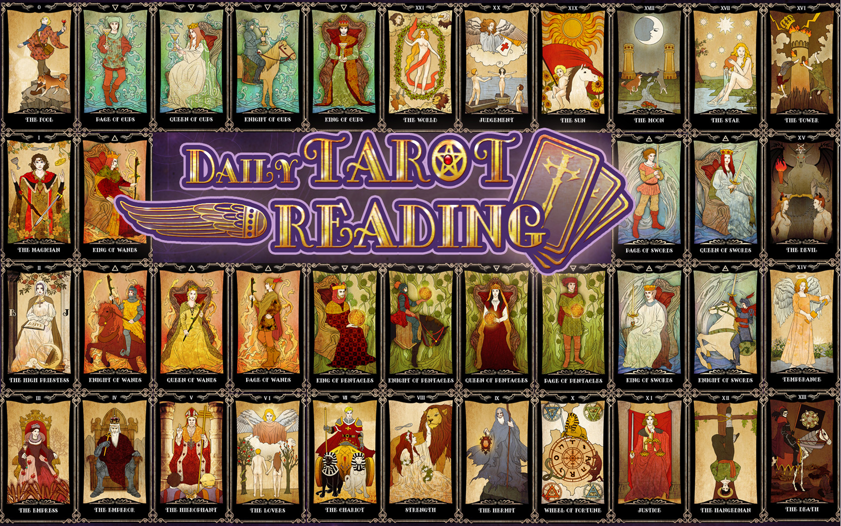 Amazing Tarot Cards Pictures & Backgrounds