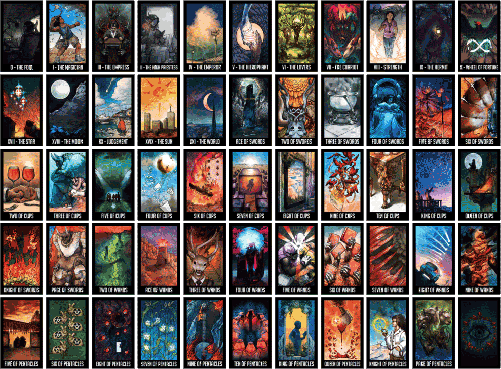 989x729 > Tarot Cards Wallpapers