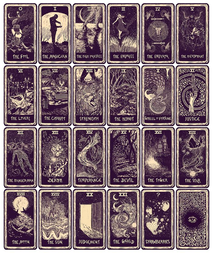 700x831 > Tarot Cards Wallpapers