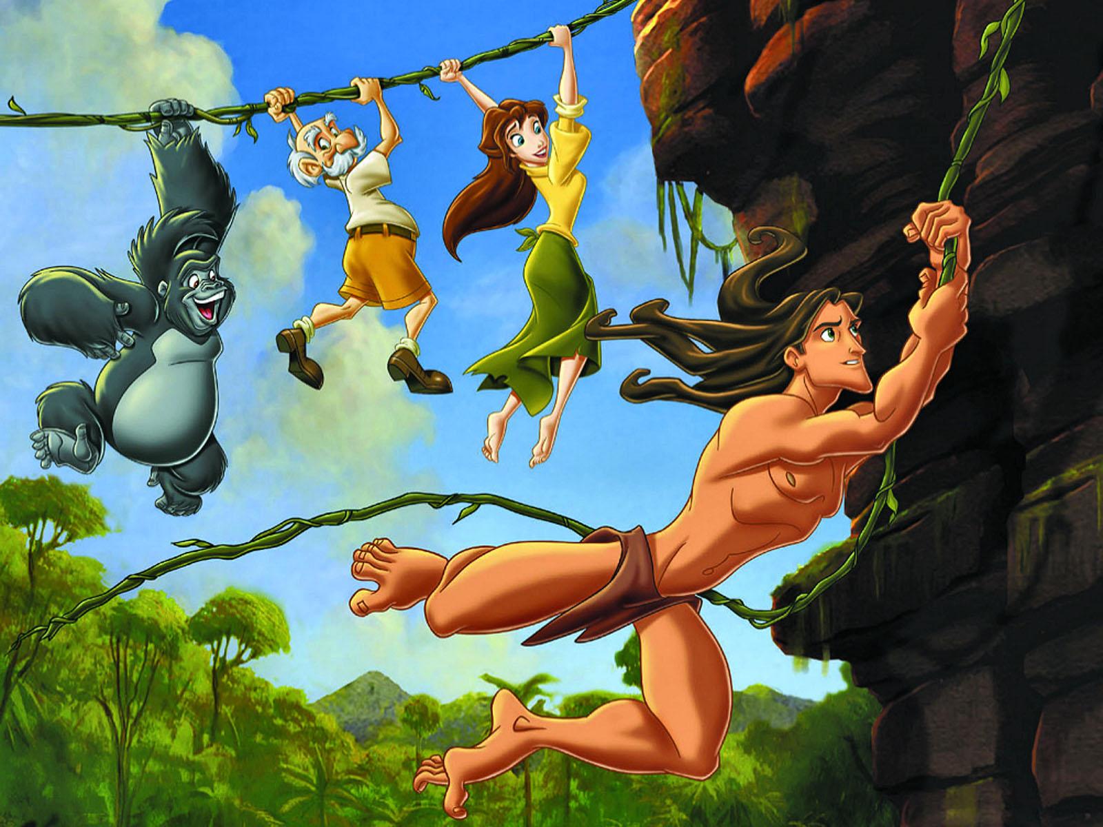 HQ Tarzan Wallpapers | File 312.89Kb