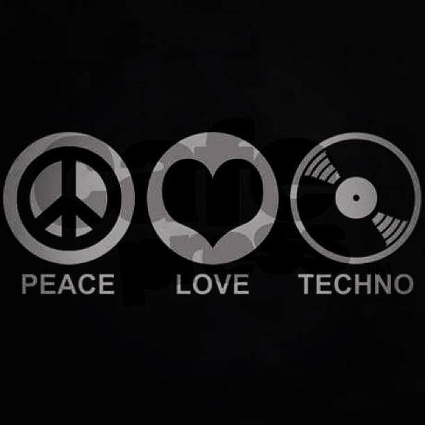 HD Quality Wallpaper | Collection: Music, 612x612 Techno