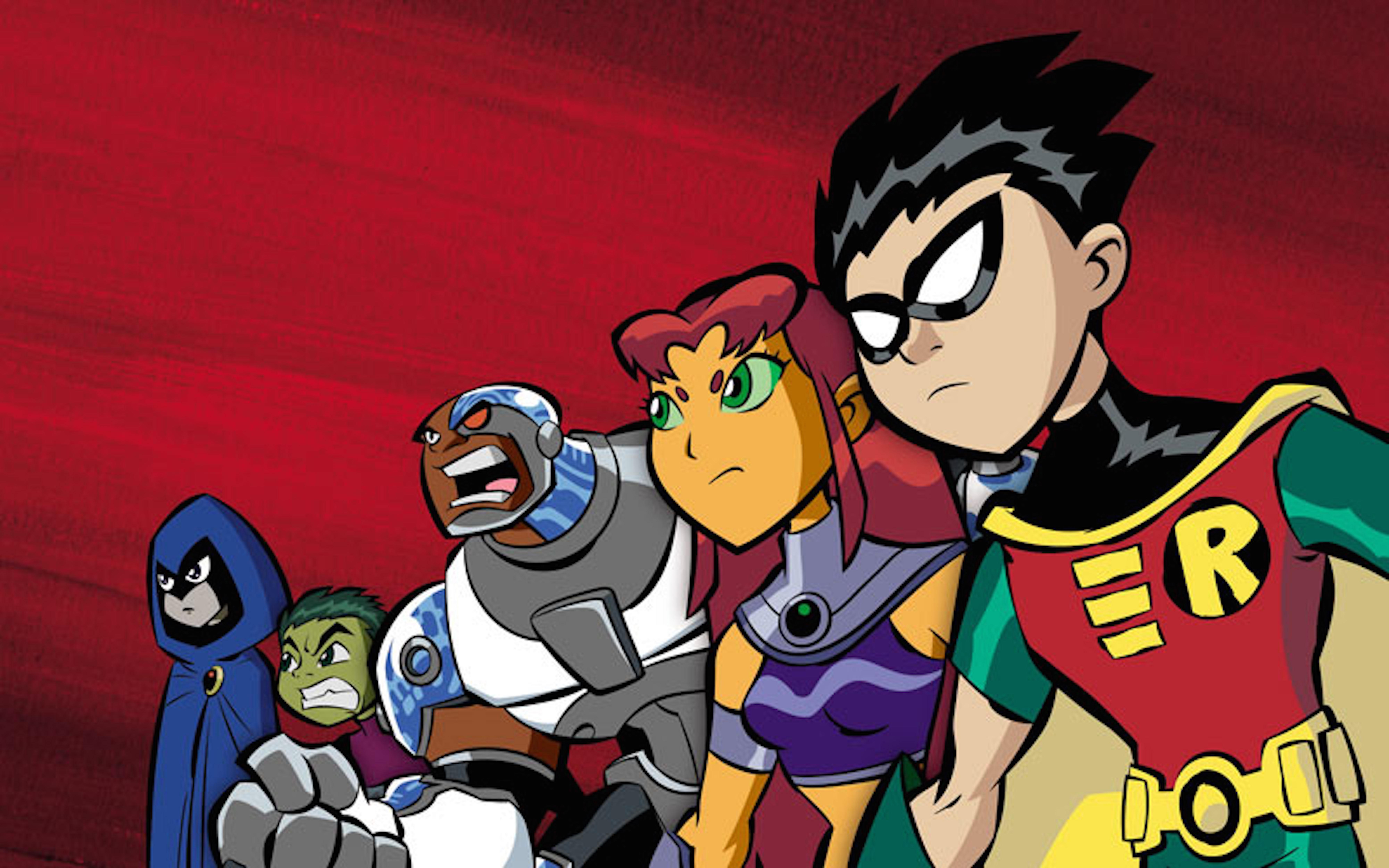 HD Quality Wallpaper | Collection: Cartoon, 8000x5000 Teen Titans