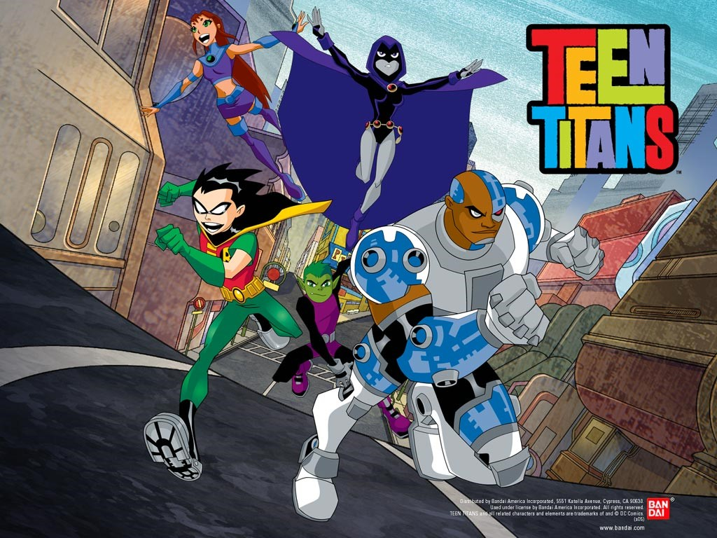 Nice wallpapers Teen Titans 1024x768px
